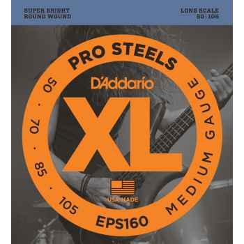 D´addario EPS160 ProSteels Bass cuerdas para bajo